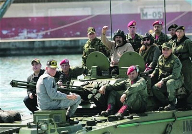 افزایش نیروهای نظامی ونزوئلا در مرز مشترک با کلمبیا به دستور مادورو