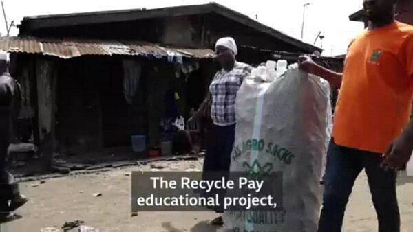 پرداخت شهریه مدرسه با پسماندهای پلاستیکی