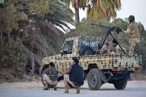 تسلط نیروهای دولت وفاق ملی لیبی بر شهر غریان