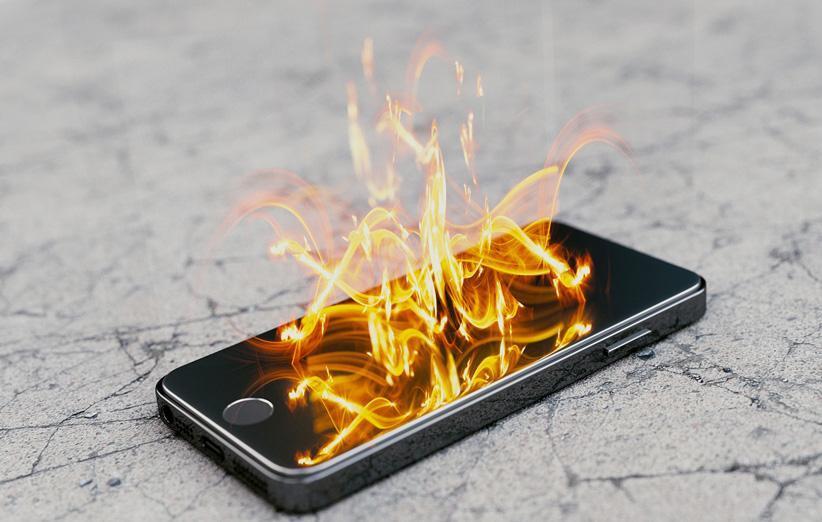 چرا گوشی ها منفجر می شوند؟ (و چگونه می توان جلوی وقوع آن را گرفت)