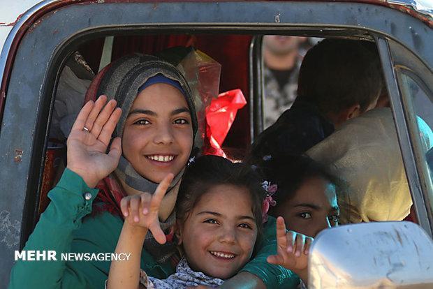بازگشت بیش از 2000 آواره سوری به کشور خود
