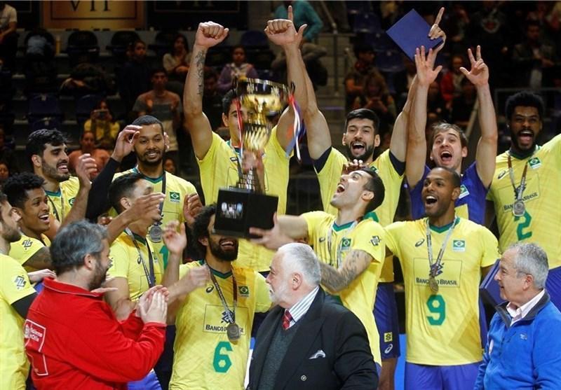 تیم ملی والیبال برزیل، قهرمان آمریکای جنوبی شد، شیلی بعد از 26 سال به مدال رسید