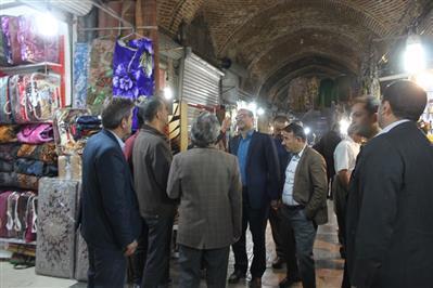 همکاری اصناف در مرمت بازار تاریخی ارومیه