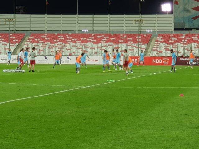آخرین تمرین تیم ملی در ورزشگاه ملی با بحرین در حضور تماشاگران ایرانی