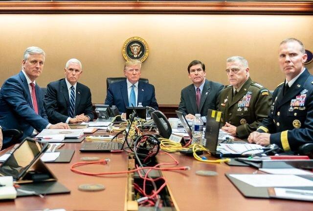 ترامپ دروغ می گوید که شاهد مرگ البغدادی بود، او هنگام عملیات، گلف بازی می کرد