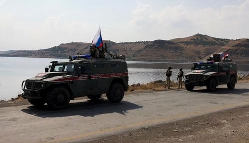 اعزام 300 سرباز و 20 خودروی زرهی روسیه به شمال سوریه