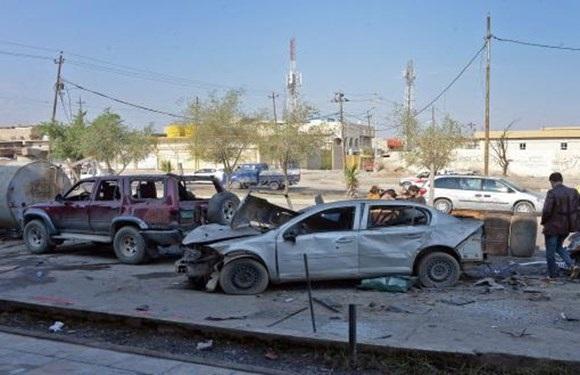 انفجار در سامرا ، 7 نیروی الحشد الشعبی شهید شدند