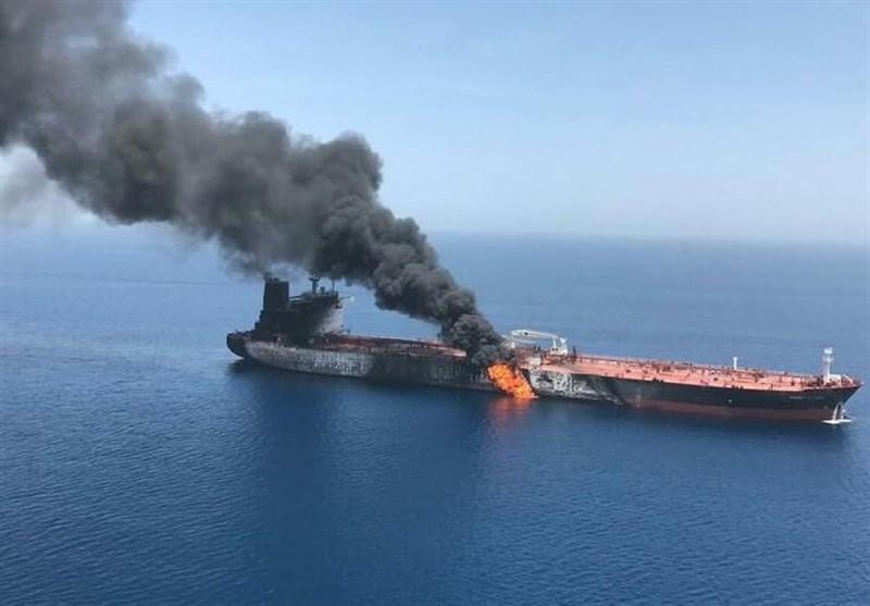 واکنش اتحادیه اروپا به انفجار دو نفتکش در دریای عمان