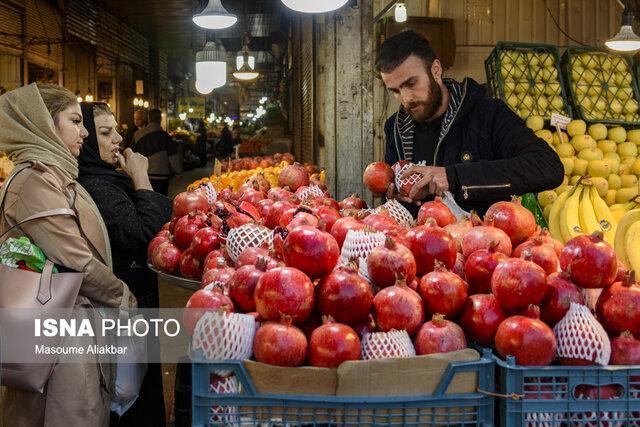 گشت و گذاری در بازار شب یلدا-کرج