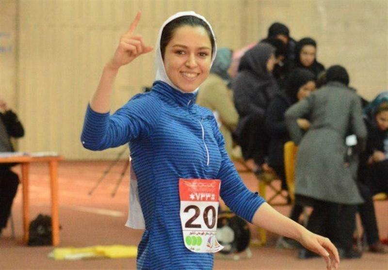 تاریخ سازی بانوی دوومیدانی کار ایران با ثبت یک رکورد جدید