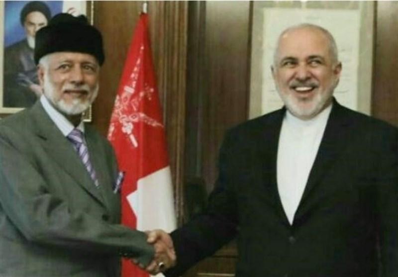 ملاقات بن علوی با ظریف در تهران