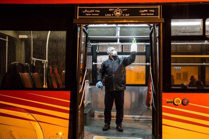 20 راننده اتوبوس در پایتخت کرونا گرفته اند، کاهش 70 درصدی مسافران