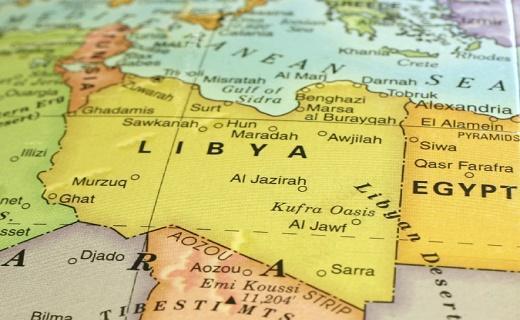 سرنگونی بالگرد نیرو های خلیفه حفتر در شهر سرت لیبی