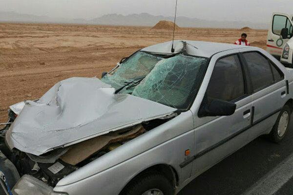 6 کشته و مجروح در سانحه رانندگی محور زاهدان خاش