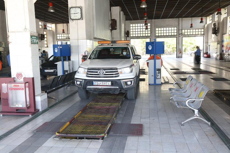 معاینه بهداشتی خودروها در آر ژانتین
