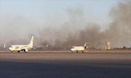 خبرنگاران ارتش لیبی فرودگاه بین المللی طرابلس را از کنترل نیروهای حفتر خارج کرد
