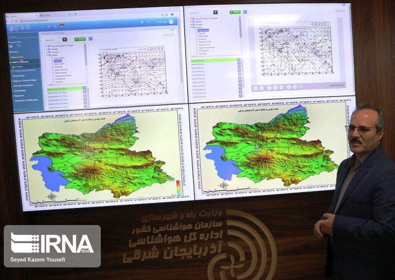خبرنگاران کاهش 21.4 درصدی بارش در آذربایجان شرقی