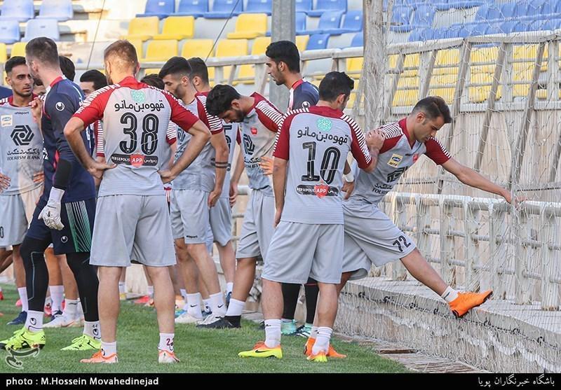 اعضای تیم پرسپولیس فردا راهی قطر می شوند، تمرین 7 بازیکن زیر نظر کادر فنی