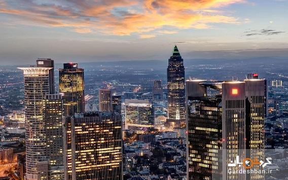 برج ماین؛از نمادهای مهم شهر فرانکفورت، تصاویر