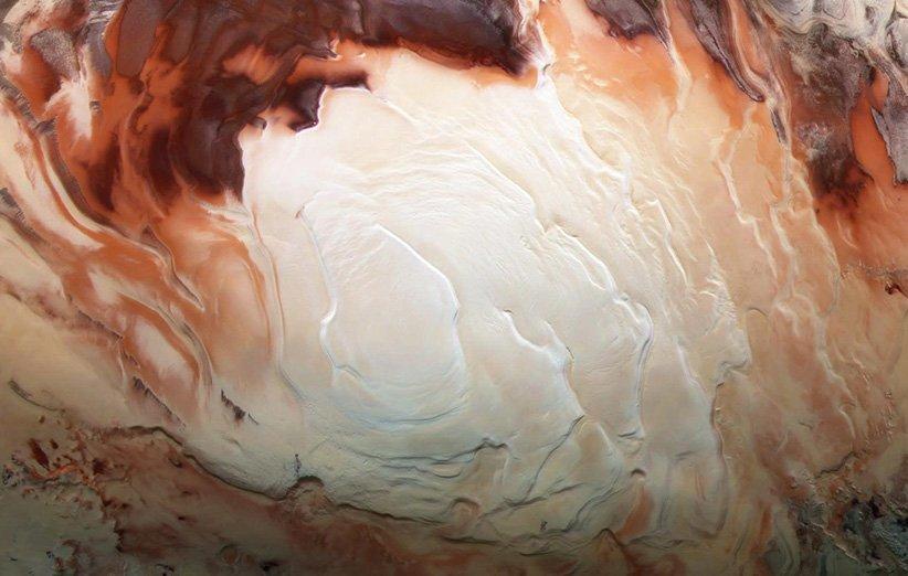 وجود دریاچه های آب مایع در قطب جنوب مریخ تأیید می شود؟
