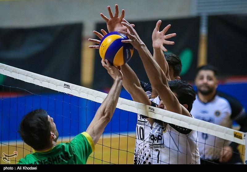 لیگ برتر والیبال، تداوم صدرنشینی فولاد سیرجان با فزونی در ارومیه، پیکان در یزد باخت