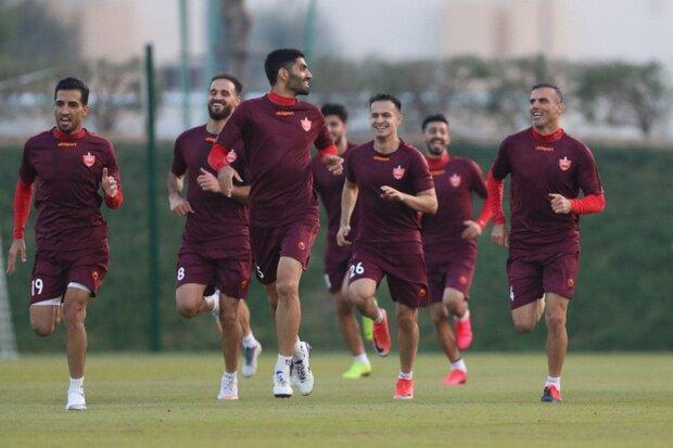 دوجلسه تمرین امروز پرسپولیس در دوحه قطر