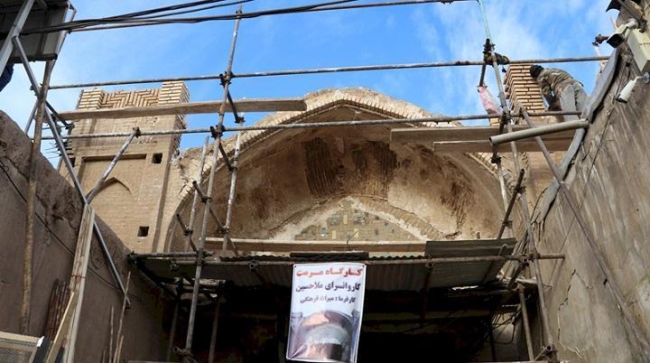 سرای تاریخی ملاحسین در قم بازسازی شد
