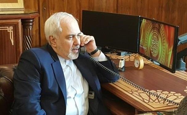 تأکید ظریف بر تغییرناپذیری مرز های بین المللی در تماس تلفنی همتای ارمنستانی