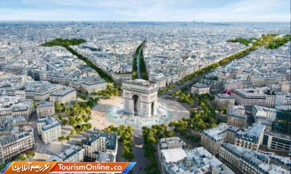شانزلیزه پاریس باغ می گردد