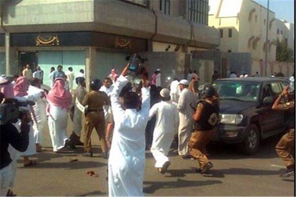 مردم عربستان علیه آل سعود در القصیم تظاهرات کردند
