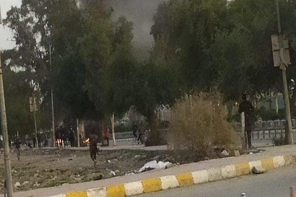 ذی قار عراق ناآرام است، 62 نفر زخمی شدند