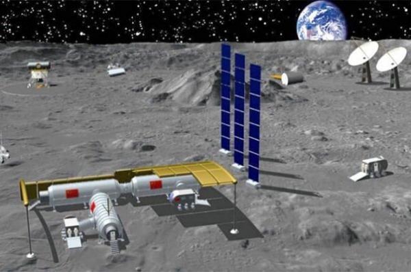 چین در قطب جنوب ماه ایستگاه تحقیقاتی می سازد