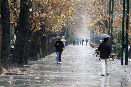بارش باران در نقاط مختلف کشور ، کوهنوردان مراقب باشند