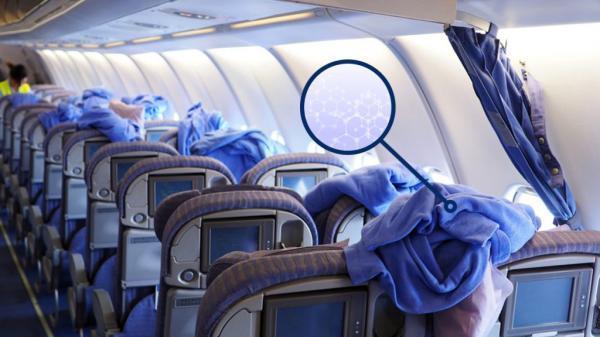 آرامش خاطر در پرواز، با پتوی های ضدمیکروب و کُندسوز