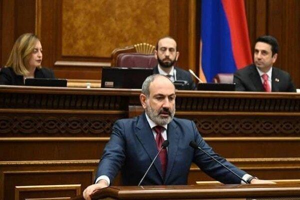 پاشینیان از مجلس ملی ارمنستان رأی اعتماد به دست نیاورد