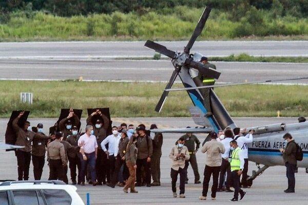 حمله به بالگرد حامل رئیس جمهور کلمبیا