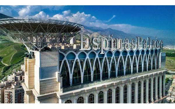 خبر اقامت وزیر نیرو در هتل اسپیناس پالاس کذب محض است
