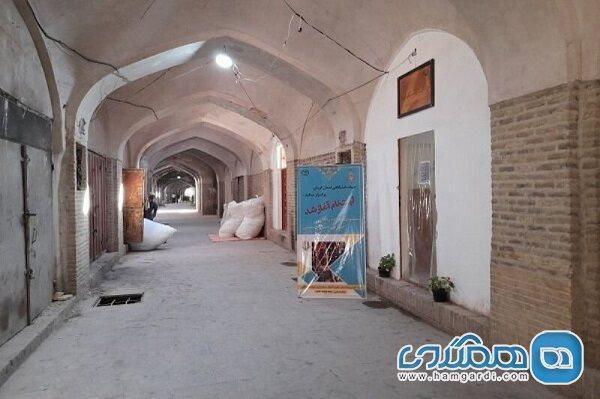 بازسازی بازار قلعه محمود کرمان آغاز شد