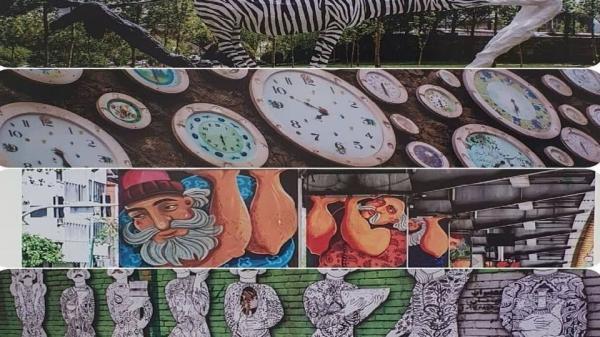 تور ارزان برزیل: جلوه های هنر شهری ایرانی در برزیل به نمایش گذاشته شد